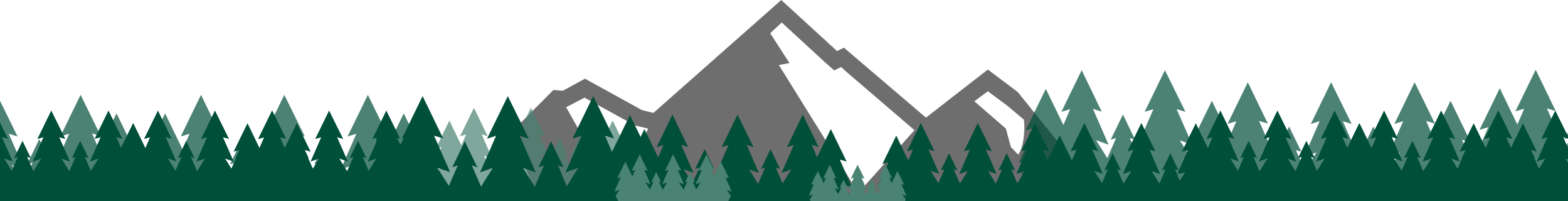 Mountain and Forsest